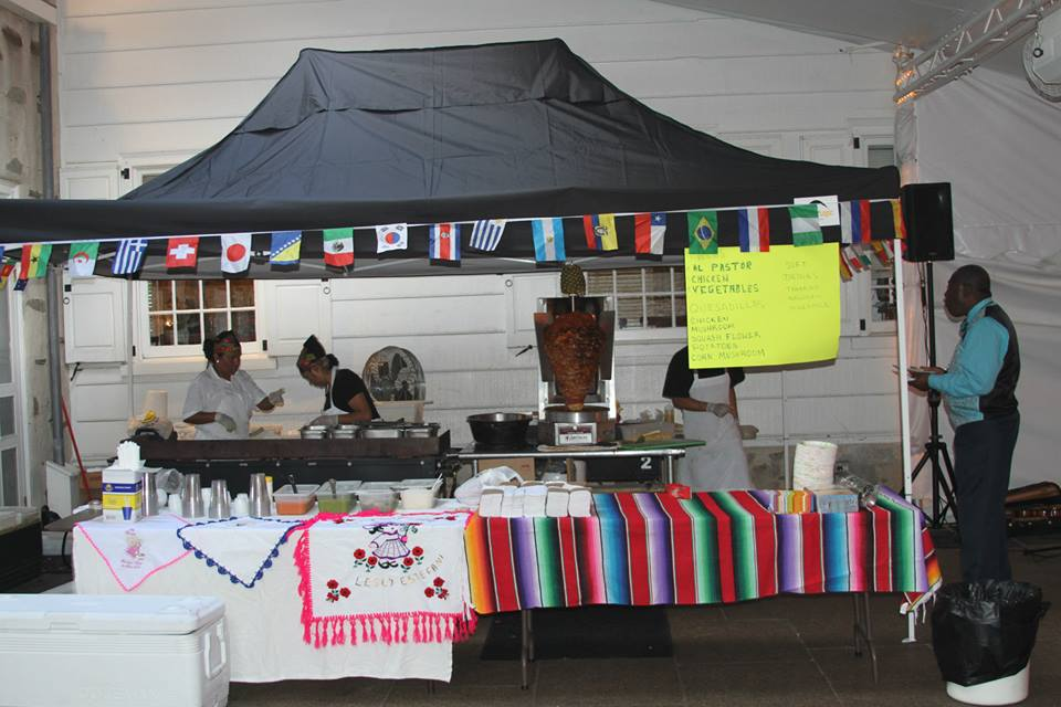 Setup for Los Taquitos de Puebla